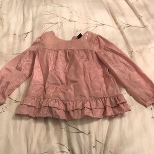 Pink formal blouse
